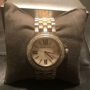 Michael Kors Tricolor(Silver/Gold/Rose Gold) Watch